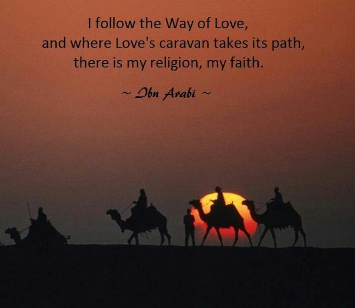 Agama Cinta Ibnu Arabi Santri Cendekia