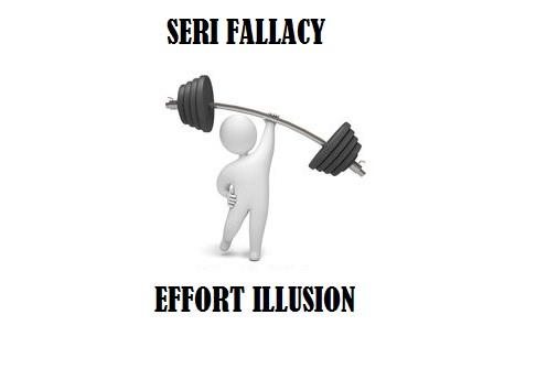 Effort Illusion
