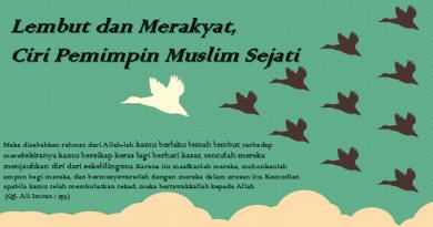 Lembut dan Merakyat, Ciri Pemimpin Muslim Sejati